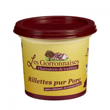 RILLETTES PUR PORC - POT 220G