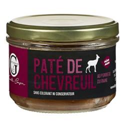 Verrine Pâté de chevreuil Au Pommeau du Maine 200g